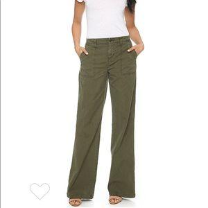 NWT J Brand Drea High Rise Utility Wide Leg Pants